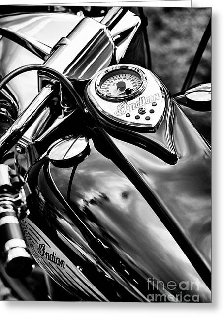 Indian Chief Centennial Greeting Card by Tim Gainey