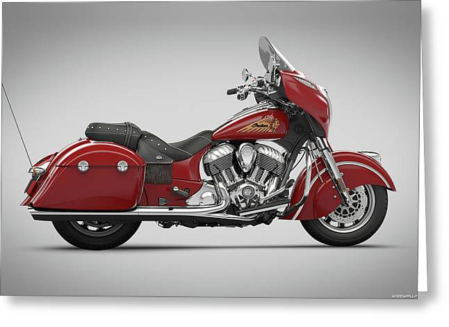 Indian Chieftain 2014 1920x1200 011 Greeting Card