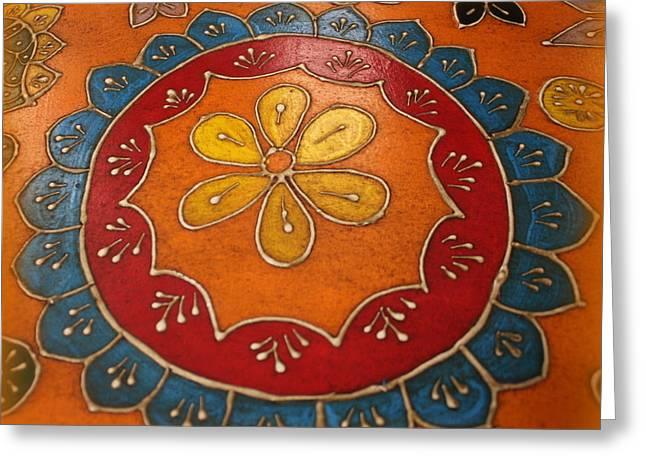 Indian Mandala  Greeting Card