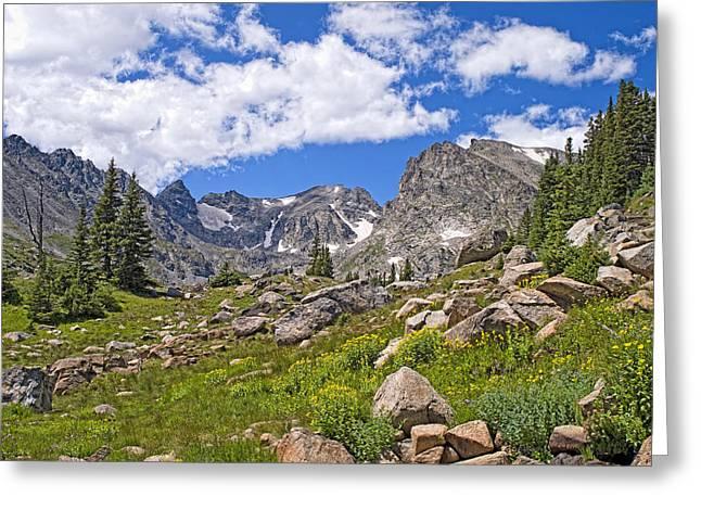 Indian Peaks Wilderness Colorado Greeting Card