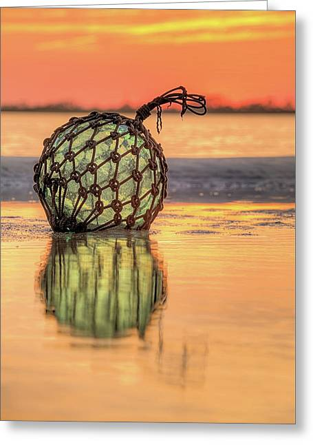 Indian River Sunset Greeting Card by JC Findley
