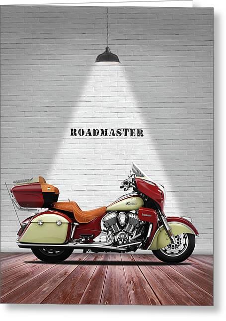 Indian Roadmaster Greeting Card