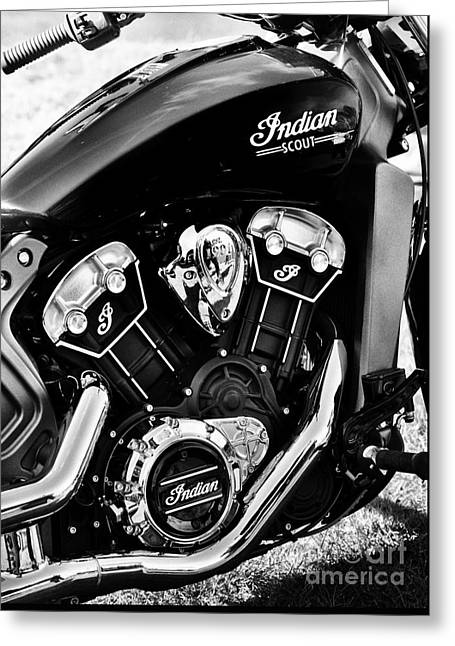 Indian Scout 2015 Greeting Card
