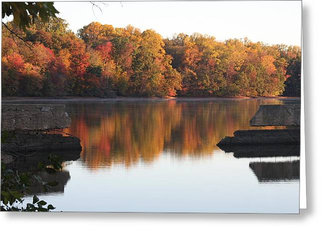 Greeting Card featuring the photograph Indian Summer by Vadim Levin