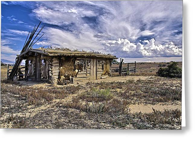 Indian Trading Post Montrose Colorado Greeting Card