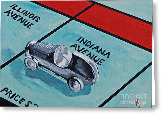 Indiana Avenue Greeting Card