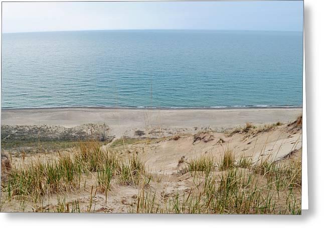 Indiana Dunes National Lakeshore Evening Greeting Card
