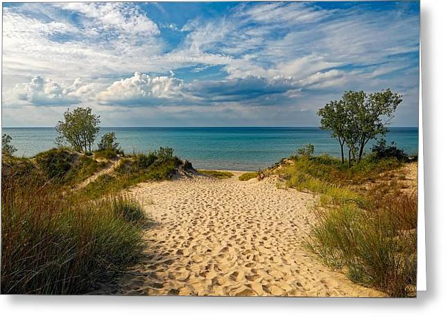 Indiana Dunes State Park Greeting Card