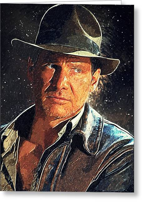 Indiana Jones Greeting Card