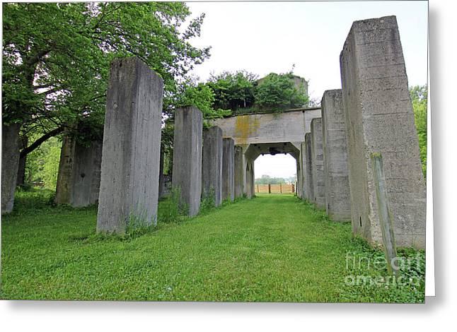 Indiana Stonehenge 2 Greeting Card