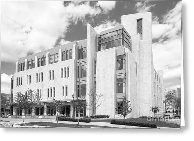 Indiana University East Studio Building Greeting Card by University Icons