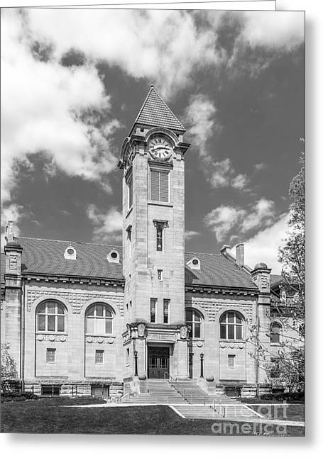 Indiana University Franklin Hall Greeting Card by University Icons