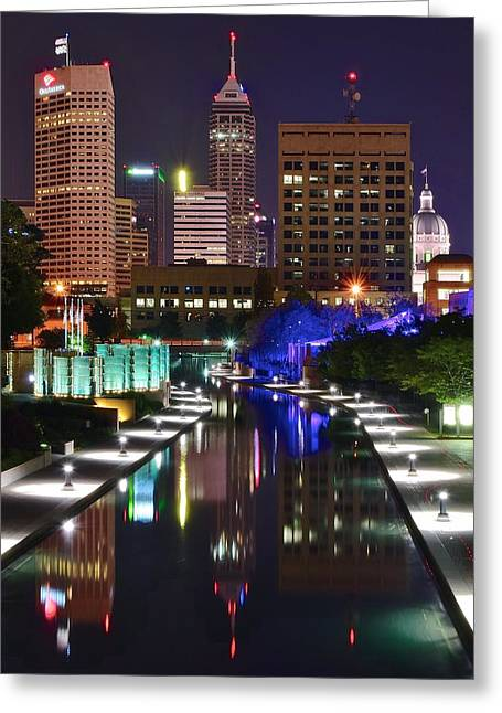 Indianapolis Eight By Ten Greeting Card by Frozen in Time Fine Art Photography