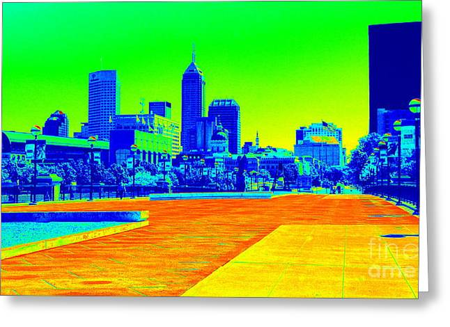 Indianapolis Heat Tone Greeting Card