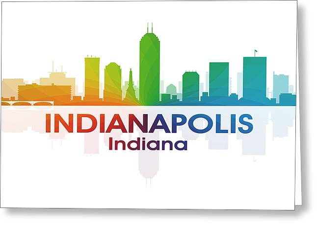 Indianapolis In Greeting Card