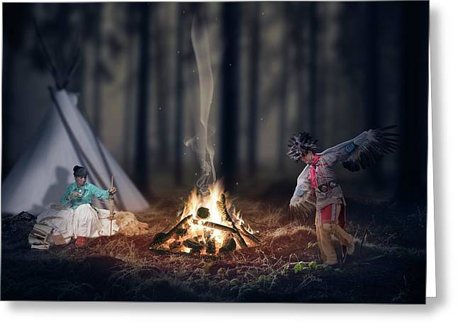 Indigenous Peoples Of The Americas Greeting Card