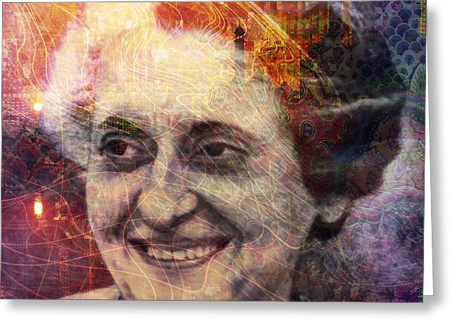 Indira Greeting Card