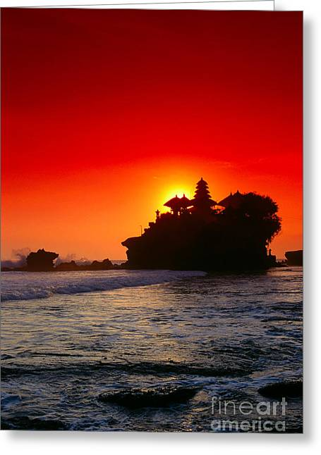 Indonesia, Bali Greeting Card by Gloria & Richard Maschmeyer - Printscapes