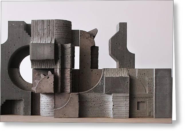 Industrial Landscape 1 Greeting Card by David Umemoto