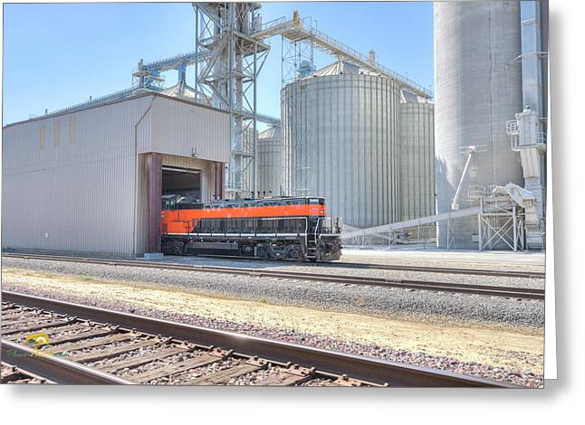 Industrial Switcher 5405 Greeting Card