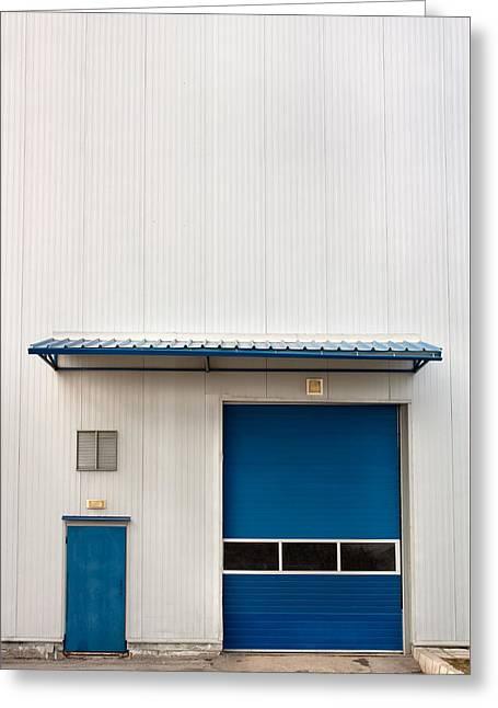 Industrial Unit Greeting Card by Boyan Dimitrov