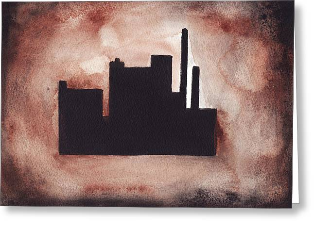 Industry City Greeting Card