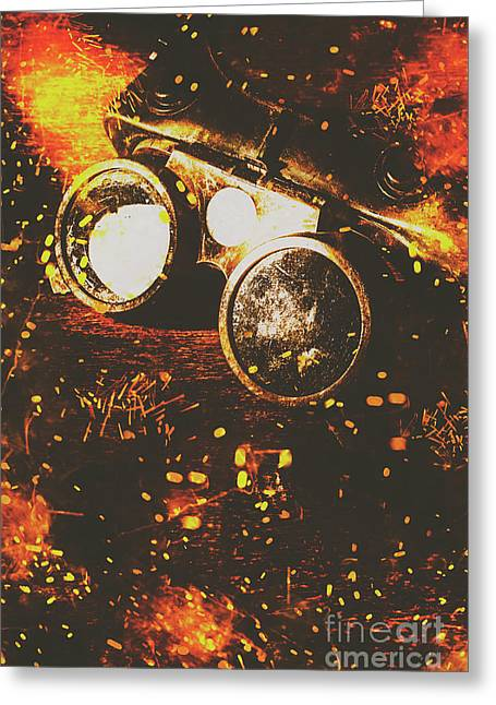 Welding greeting cards fine art america industry of artistic creations greeting card m4hsunfo