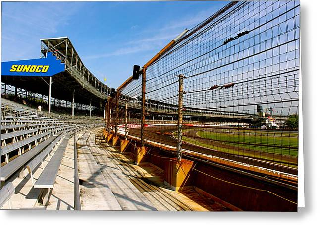 Indy  Indianapolis Motor Speedway Greeting Card