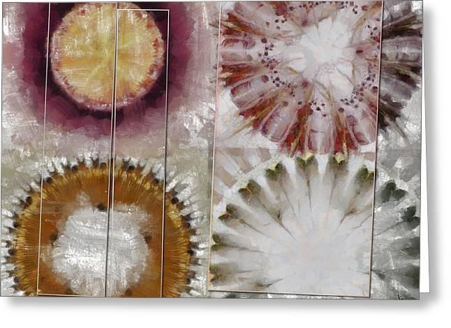 Inexhaustible Spacing Flower  Id 16165-130627-15901 Greeting Card