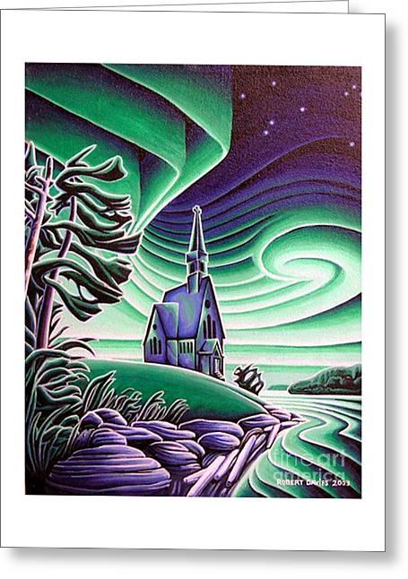 Infant Jesus Church, Longlac, Ontario Greeting Card