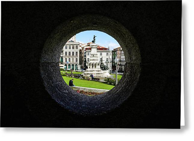 Infante Dom Henrique Square Greeting Card