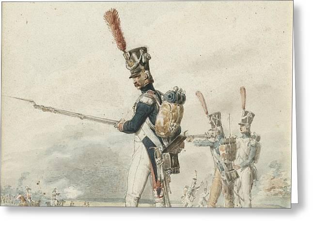 Infanterie De La Jeune Garde En Greeting Card