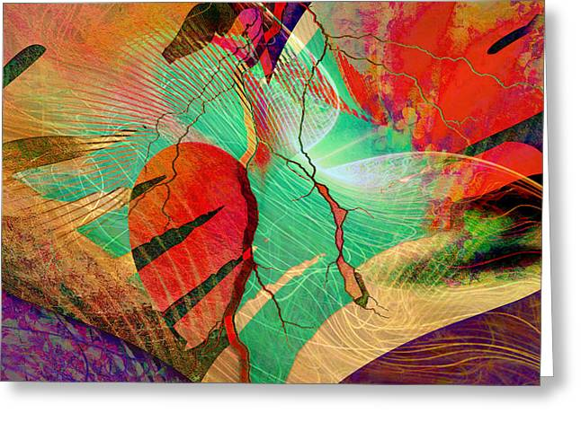Infatuation Greeting Card by Barbara Berney