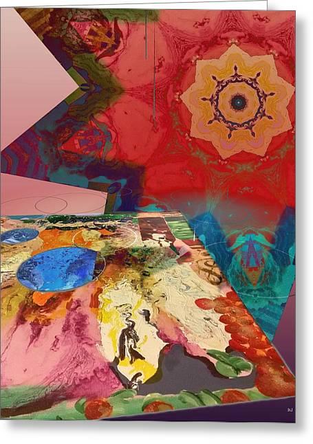 Infinite Greeting Card by Jan Steadman-Jackson
