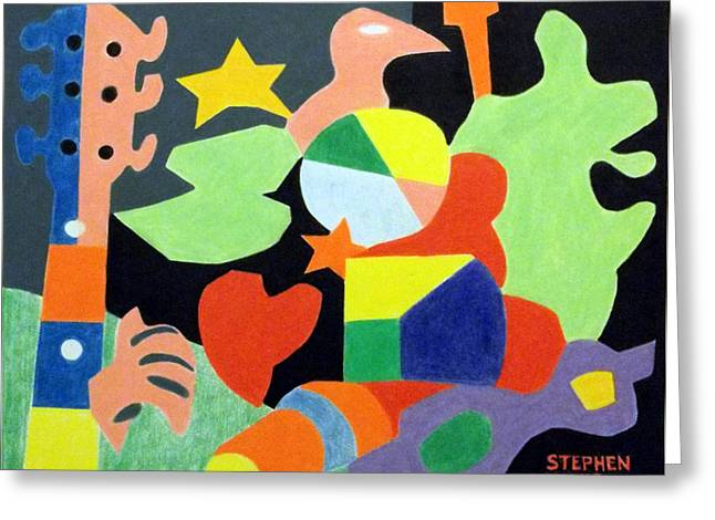 Infinite Shores Greeting Card by Stephen Davis