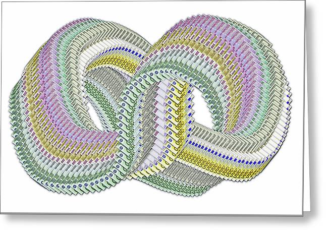 Infinity Sign. Greeting Card by Andy Za