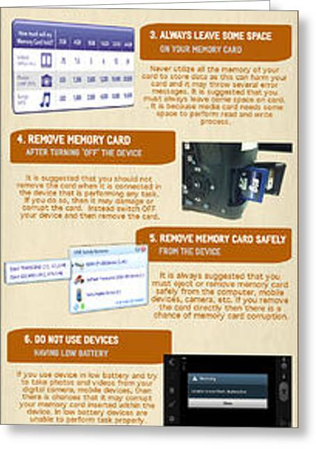 Infographic10 Tips To Avoid Memory Card Errors And Corruptions Greeting Card