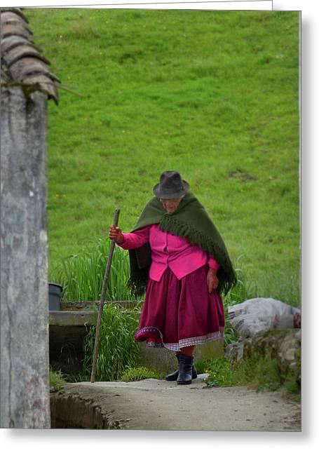 Ingapirca Incan Ruins 36 Greeting Card
