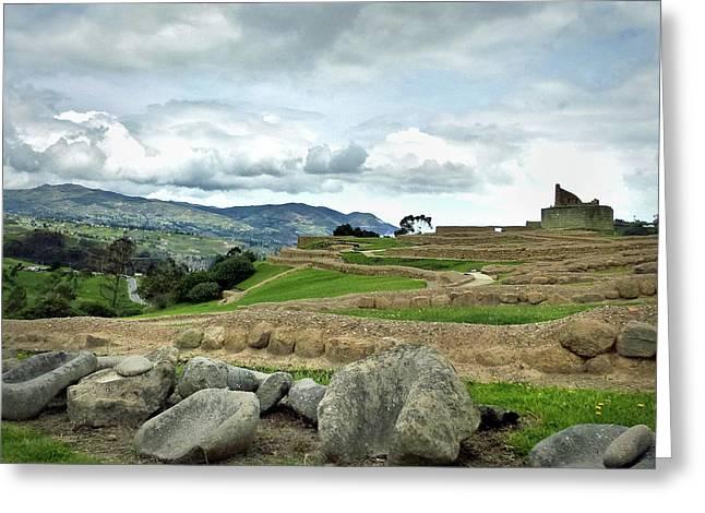 Ingapirca Incan Ruins 49 Greeting Card