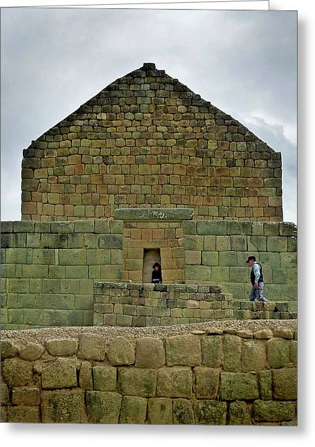 Ingapirca Incan Ruins 63 Greeting Card