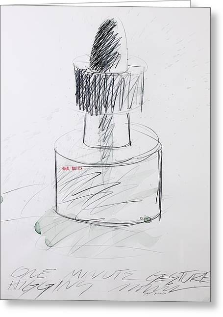 Ink Bottle Two Greeting Card