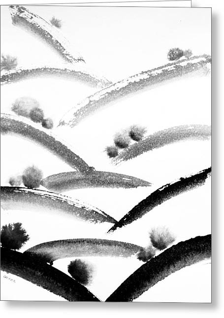 Ink Valleys Greeting Card