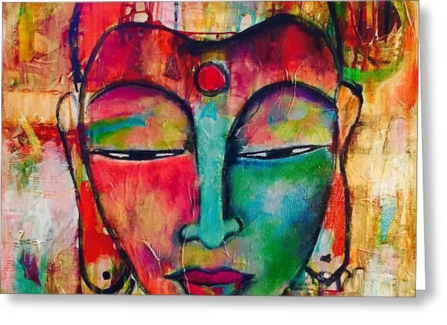 Inner Buddha  Greeting Card