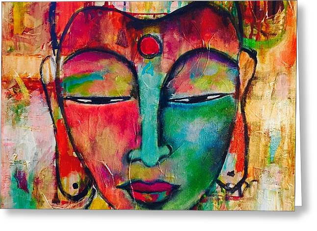Inner Buddha  Greeting Card