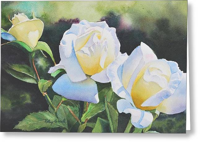 Inner Glow Greeting Card by Kathy Nesseth