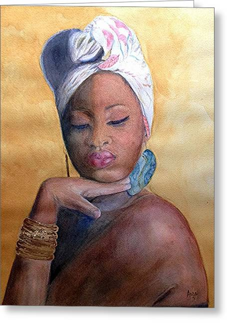 Inner Oshun Greeting Card
