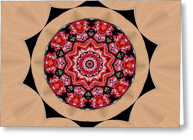 Inner Peace Greeting Card by Natalie Holland
