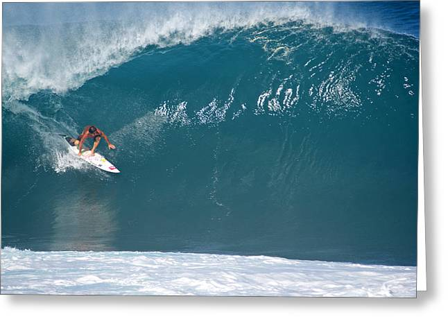 Banzai Pipeline Greeting Cards - Inner Reef Greeting Card by Kevin Smith