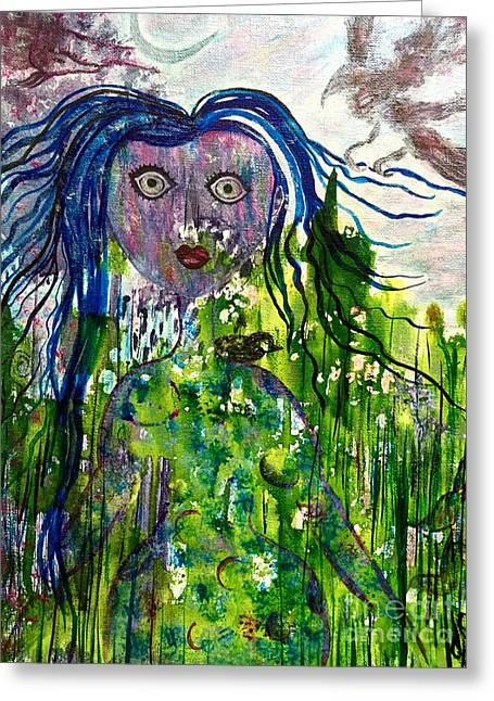 Inner Wild Woman Greeting Card
