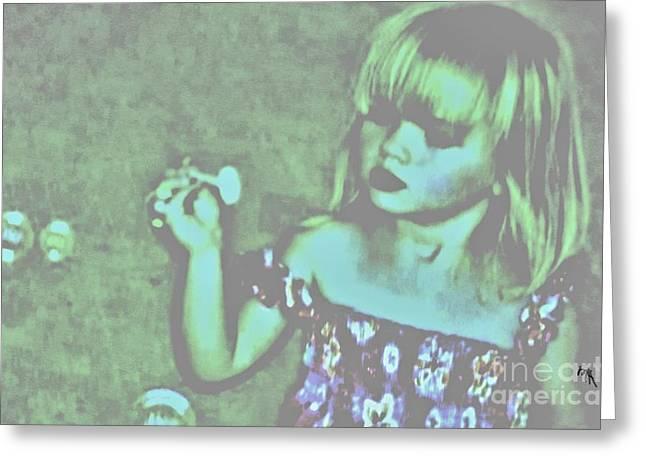 Innocence Greeting Card by Marsha Heiken